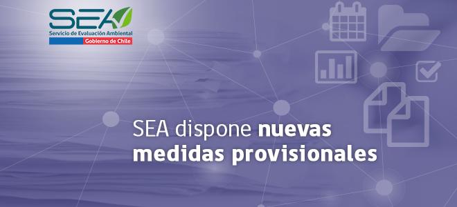 SEA dispone medidas para reanudación gradual de evaluación proyectos